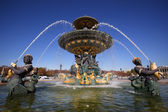 Fountain of River Commerce and Navigation, Paris — Stock Photo
