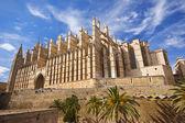 The Cathedral of Santa Maria of Palma, Mallorca — Foto Stock