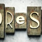 Press concept with vintage letterpress — Stock Photo #12431692