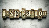 Concepto de inspiración con tipografía vintage — Foto de Stock