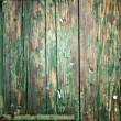 Royalty-Free Stock Photo: Closeup of wood planks with peeling paint, texture background