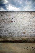 Fond de texture mur rue et pierre — Photo
