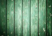 Closeup of green wood planks texture background — Stock Photo