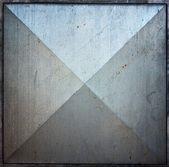 Azulejo cuadrado del metal textura fondo — Foto de Stock