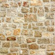 Old stone wall, background texture - Stock Photo