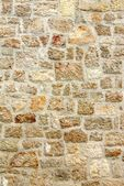Old stone wall, background texture — Stock Photo