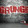 Graffiti wall with grunge, street background — Stock Photo #18649853