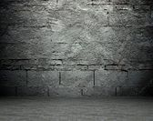 Old street wall background, texture — Stock Photo