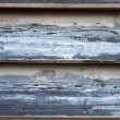 Peeling Paint on old wooden siding, texture — Stock Photo