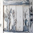 Peeling Paint on old wooden door, texture - 图库照片