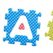 Foto de Stock  : Colored letters, Teach for children