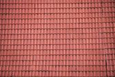 Red roof tiles texture, background — Stock Photo