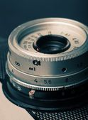 Close up of the old camera, vintage style — Stock Photo