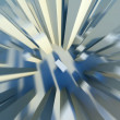Stockfoto: 3d City motion blur effect, fast fall down