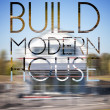 Stock Photo: Build modern house design background photography and typography