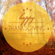 Happy thanksgiving Autumn conceptual creative illustration — Stock Photo #36187159