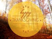 Happy thanksgiving Autumn conceptual creative illustration — Stock Photo