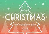 Merry Christmas, creative conceptual illustration — Stock Photo