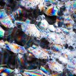 Soap bubbles abstract colorful macro structure — Stock Photo #37314109