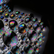 Soap bubbles abstract macro structure copy space — Stock Photo #37314695