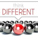 Think different, business unique concept — Stock Photo #38334593