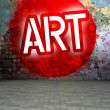 Graffiti wall urban art street — Stock Photo #38333963
