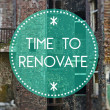 Time to renovate your life new beginning — Stock Photo #38336407