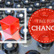 Time for change, business unique concept — Stock Photo #38337307