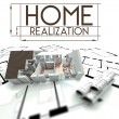 Stock Photo: Home realization with project of house