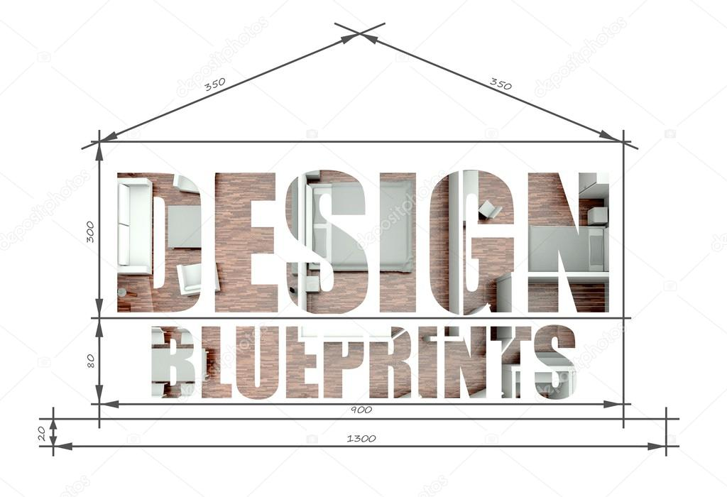 Slogan del disegno progetto casa moderna foto stock for Crea progetto casa