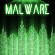 Malware with cyber binary code technology — Stock Photo #39696953