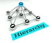 Hierarchy concept, leader and management — ストック写真