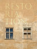 Restoration antique building wall background — Photo