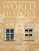World history cover concept, antique background — Stock Photo