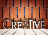 Creative modern building, conceptual illustration — Stock Photo