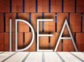 Idéia em edifício moderno ilustração criativa — Fotografia Stock
