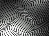 Silver metal abstract architectural wallpaper — Photo