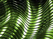 Green metal abstract architectural wallpaper — Stock Photo