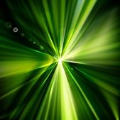 Abstract eps10 vector green stylish wave background — Stock Vector