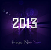Happy new year 2013 bright colorful celebration background vecto — Stock Vector
