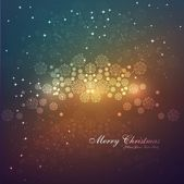 Christmas snowflakes bright colorful vector background — Stock Vector