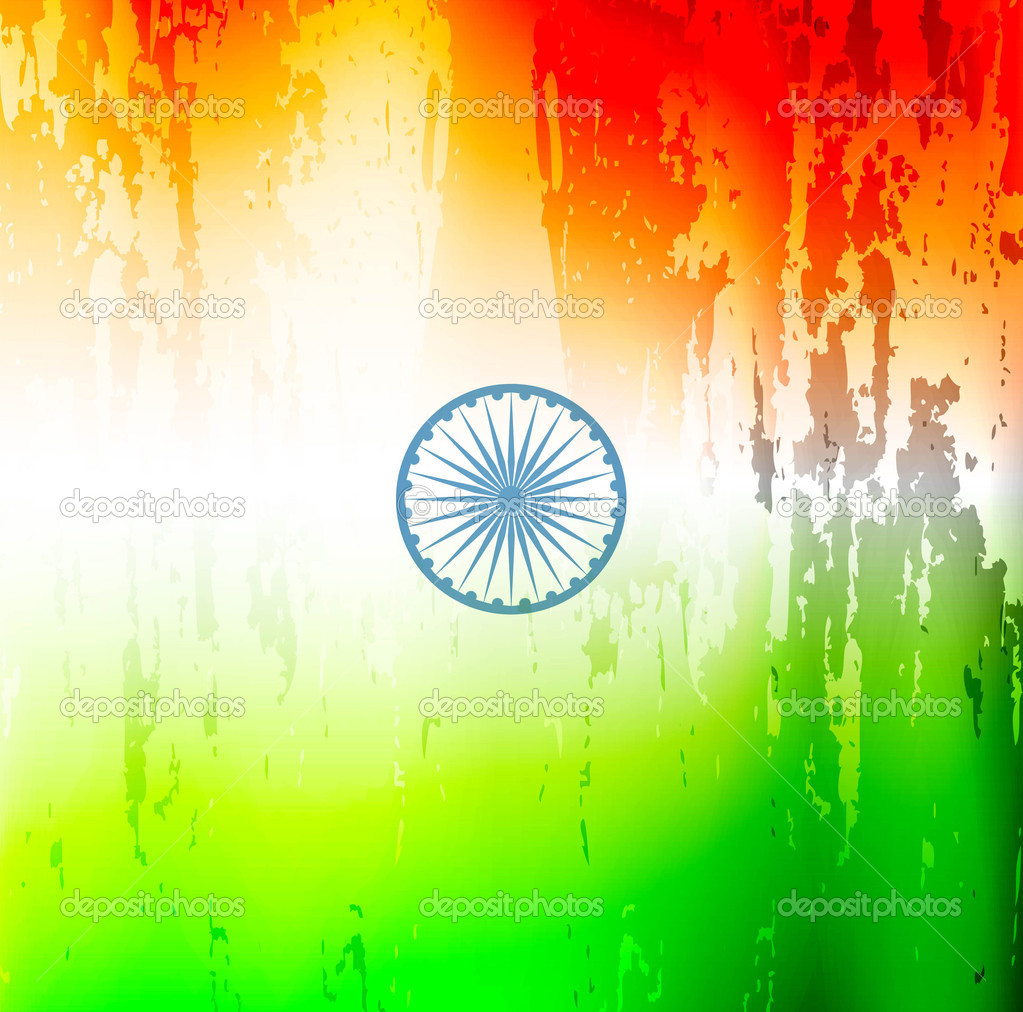 Indian Flag Grunge Texture Background For Republic Day