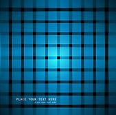 Abstrait design vectoriel civière bleu brillant — Vecteur