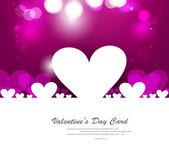 Día de san valentín corazones amor fantástico diseño — Vector de stock