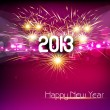 Happy new year 2013 colorful celebration vector design — Stock Vector #21997235