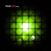 зеленая мозаика красочный фон иллюстрация — Cтоковый вектор