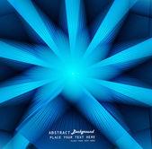 Abstrato base retrô redemoinho colorido azul brilhante — Vetorial Stock