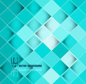 Abstract blue colorful mosaic texture background illustration — Stock Vector