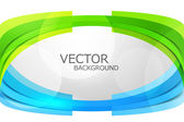 Abstract colorful stylish wave circle technology white backgroun — Stock Vector