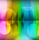 Abstract bright colorful rainbow technology background vector — Stock Vector